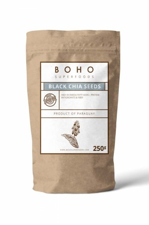Black Chia Seeds - 250g