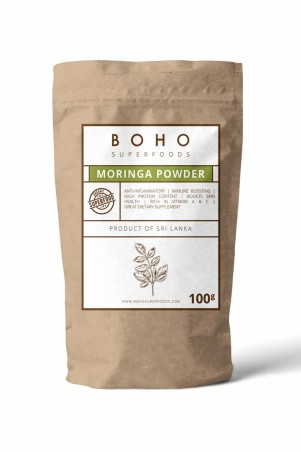 Moringa - Raw Organic Leaf Powder